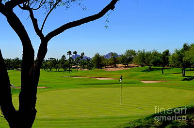 Phoenician Golf Club Print by Mary Deal
