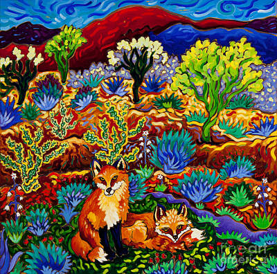 Wildlife Painting - Phoenician Oasis by Cathy Carey