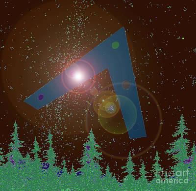 Phoenix Lights Ufo Print by James Williamson