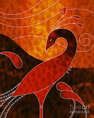 Phoenix Mixed Media - Phoenix  by Robert Ball