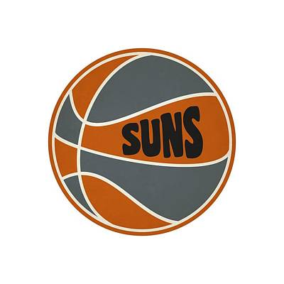 Phoenix Suns Retro Shirt Print by Joe Hamilton
