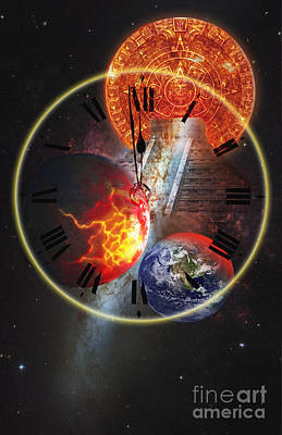 Photo Illustration Of The End Print by George Mattei