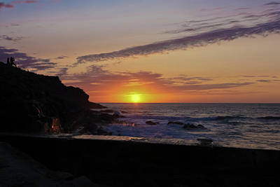 Photographer's Sunset Print by Terri Waters