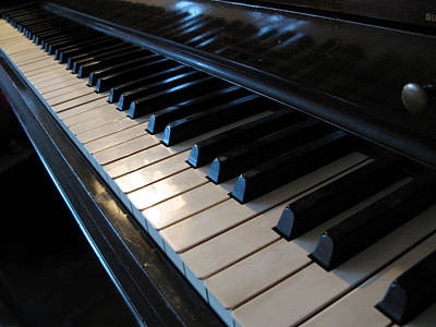 Piano Photograph - Piano Keys by Anthony Rapp