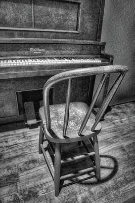 Piano - Music Print by Nikolyn McDonald