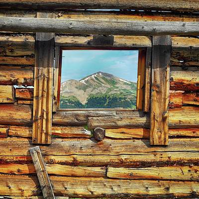 Gore Range Photograph - Picture Window 2 Color by Eric Glaser