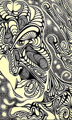 Pieces Print by Jeff DOttavio