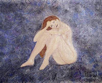Contemplative Painting - Pieces Of Me by Desiree Paquette
