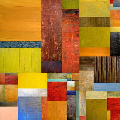 Pieces Project L Print by Michelle Calkins