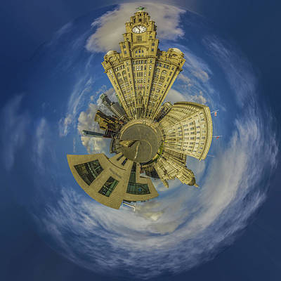 Pier Head Planet Print by Paul Madden