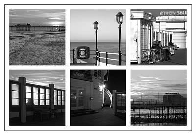 Pier Moods Print by Hazy Apple