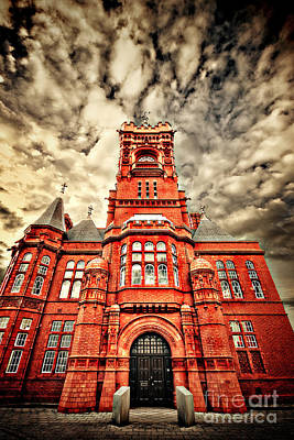 Distortion Photograph - Pierhead by Meirion Matthias