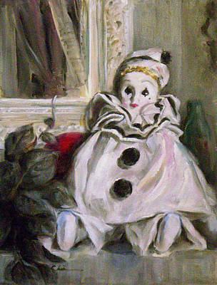 Pierrot Painting - Pierrot by Chisho Maas