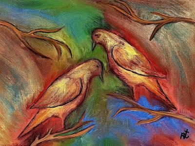 Pigeons Original by Rafi Talby