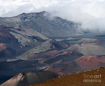 Rimrock Photograph - Pihanakalani Haleakala House Of The Sun Summit Maui Hawaii by Sharon Mau