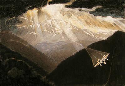 Pikes Peak Flight Print by Nils Beasley