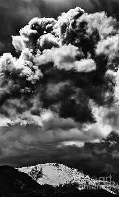 Pikes Peak Storm Print by Dennis Wagner