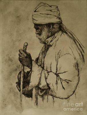 Pilgrim Print by Tim Thorpe