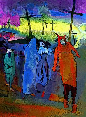 Pilgrimage Print by Miki De Goodaboom