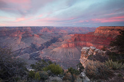 Pima Point Sunset Print by Mike Buchheit
