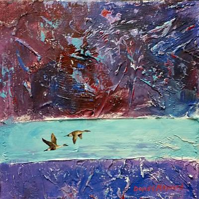 Painting - Pin Tails by David  Maynard