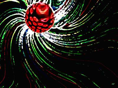Pine Cone Abstract Print by Will Borden