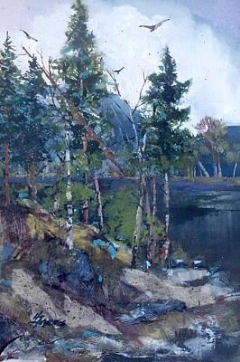 Painting - Pinelake  by Helen Harris