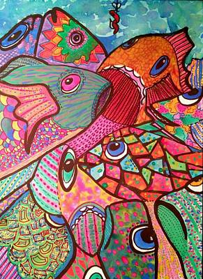 Fishy Economics Original by Teresa Hay