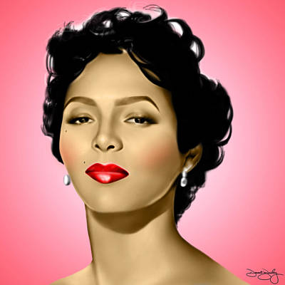 Pink Dorothy Print by Davonte Bailey