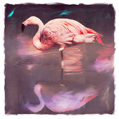 Goddess Digital Art Mixed Media - Pink Goddess by Yolanda Nussdorfer