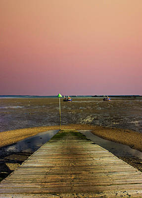 Pink Sky Print by Martin Newman