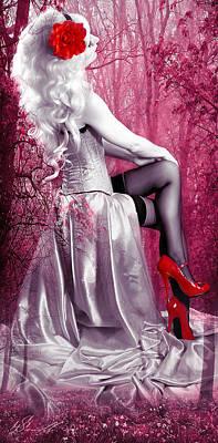 Pink Print by Svetlana Sewell