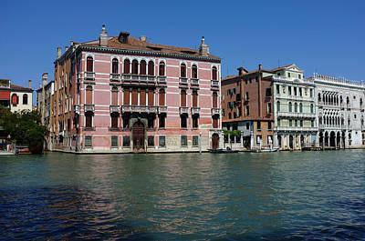 Photograph - Pink Venice  by Alex Roe