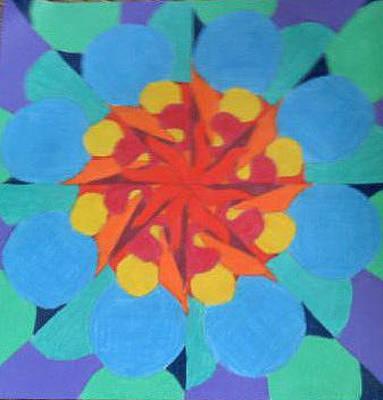Pinwheels Drawing - Pinwheel by Casey Bingham