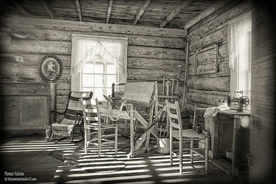 Country Photograph - Pioneer Arizona 19th Century Village Bw by LeeAnn McLaneGoetz McLaneGoetzStudioLLCcom