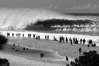 Bnw Photograph - Pipe Frenzy by Sean Davey