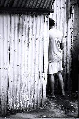 Photograph - Pisshole by Jez C Self