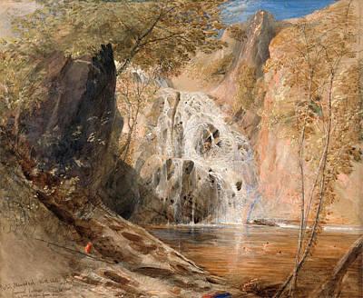 Samuel Palmer Drawing - Pistil Mawddach. North Wales by Samuel Palmer