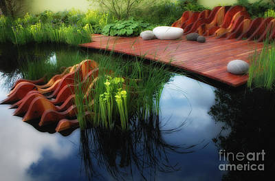 Pitcher Plant Garden 2 Print by Mike Nellums