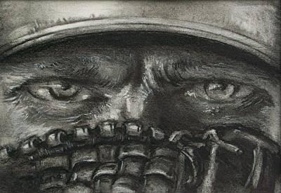 Pitchers Eyes Print by Tom Forgione