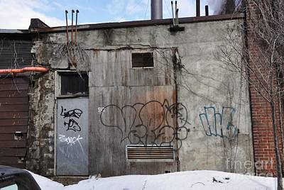 Pitt Street Wall Original by Reb Frost