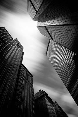 Pittsburgh Architecture 65bw Print by Emmanuel Panagiotakis