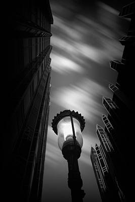 Pittsburgh Architecture77bw Print by Emmanuel Panagiotakis