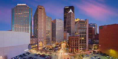 Pittsburgh Photograph - Pittsburgh Panorama  103 by Emmanuel Panagiotakis