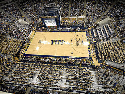 Peterson Photograph - Pittsburgh Panthers Petersen Events Center by Replay Photos