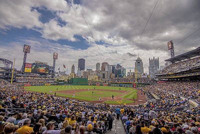 Pittsburgh Pirates 1 Pnc Park Print by David Haskett