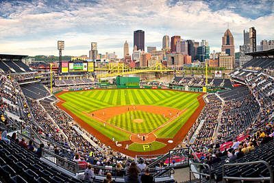 Allegheny County Photograph - Pittsburgh Pirates  by Emmanuel Panagiotakis