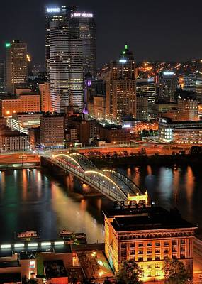 Pittsburgh Standing Tall Print by Frozen in Time Fine Art Photography