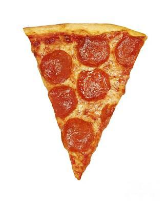 Pizza Slice Print by Diane Diederich