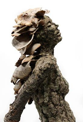 Placid Efflorescence A Sculpture By Adam Long Print by Adam Long